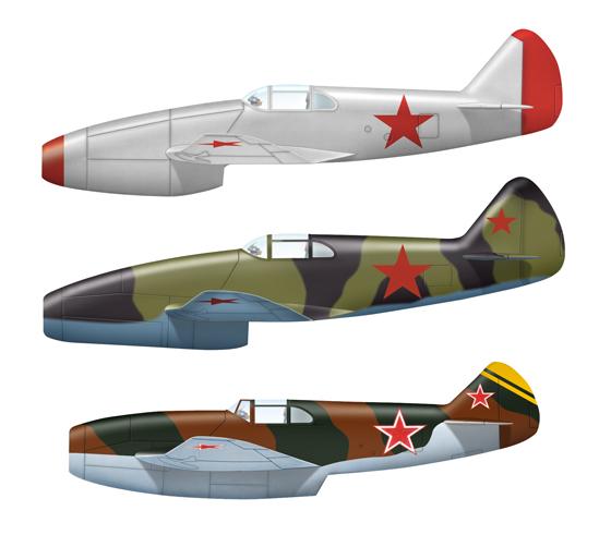 Несостоявшийся соперник ме-262 – реактивный истребитель лагг-3 врд. ссср