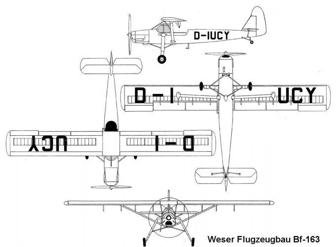Неудачливые наследники «аиста». опытные легкие многоцелевые самолеты siebel si 201 и bayerische flugzeugwerke bf 163. германия