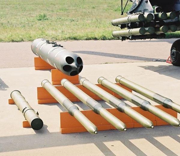 Неуправляемый реактивный снаряд с-13 «тулумбас».