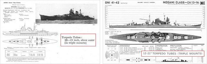 Но разведка доложила точно: «61-cм торпеда обр. 93»