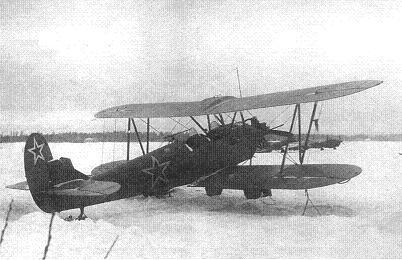Ночной артиллерийский корректировшик у-2нак.