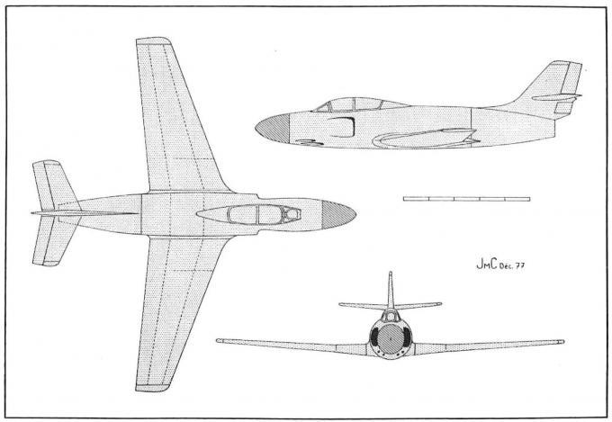 Ночные загадки марселя дассо. часть 1. проект истребителя dassault md 451. франция