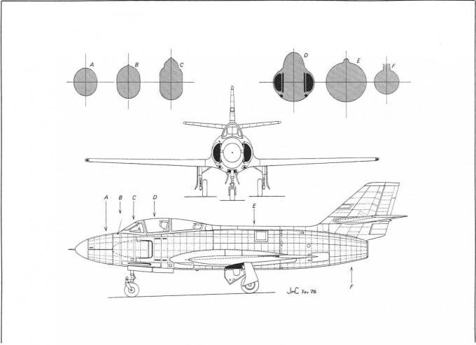 Ночные загадки марселя дассо. часть 2. опытный истребитель dassault md 453 mystere iii n. франция