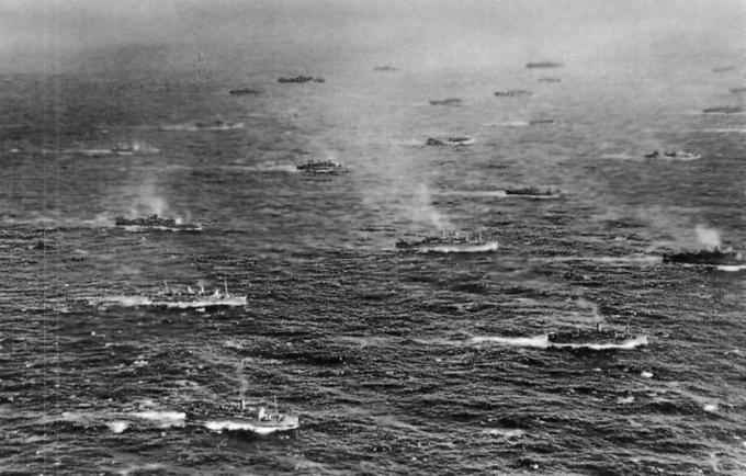 Новогодний бой. конец германского большого флота