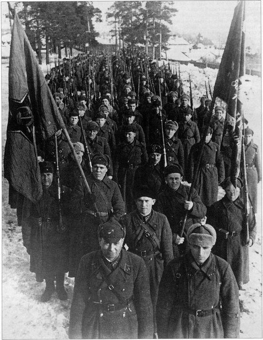 О соотношении сил на начальный период «зимней войны»