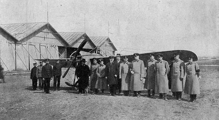 Обучение русских лётчиков во время первой мировой войны: московский учебный центр воздушного боя
