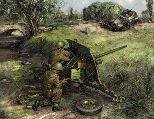 Обзор противотанковой артиллерии в мви
