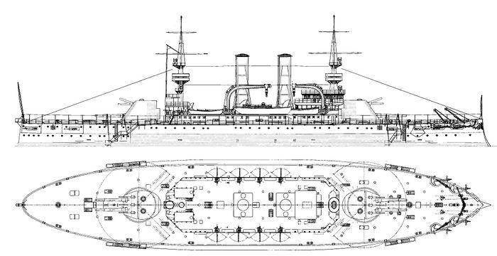 (Oчень) альтернативный флот программы 1898го года. часть х.1 тр... крамп.