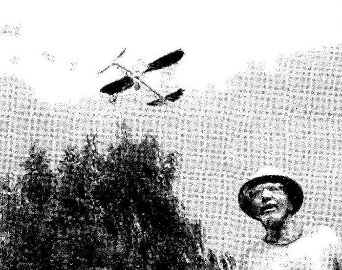 Одноконсольная кордовая гоночная модель самолета класса f2a