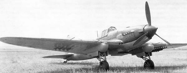 Одноместный штурмовик ил-2 (бш-2 № 2).