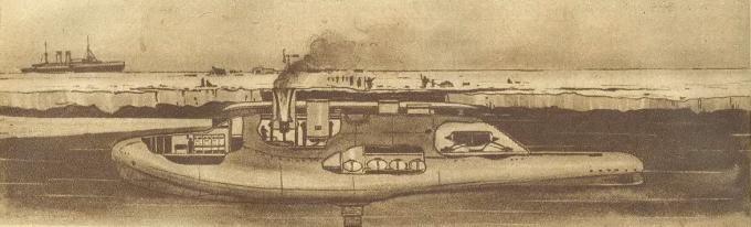 Окно в будущее. подводная лодка будущего