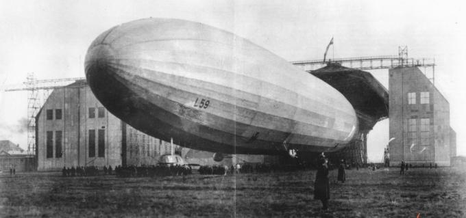 Операция «китайское дело». самый дальний и продолжительный полет первой мировой войны