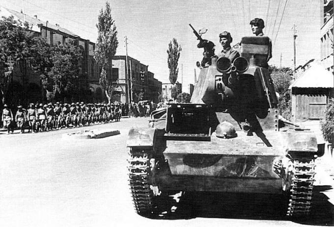 Операция согласие. ввод советских войск в иран в 1941 году