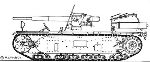 Опытная легкая самоходная пушка l.s.k.. германия