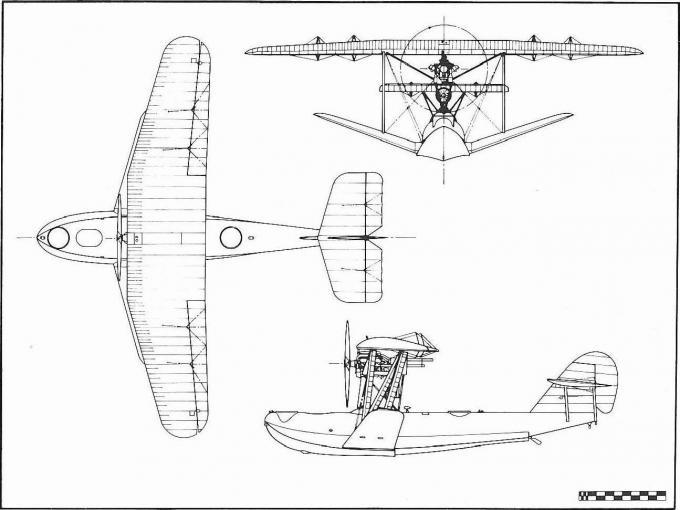 Опытная летающая лодка english electric m.3 ayr. великобритания