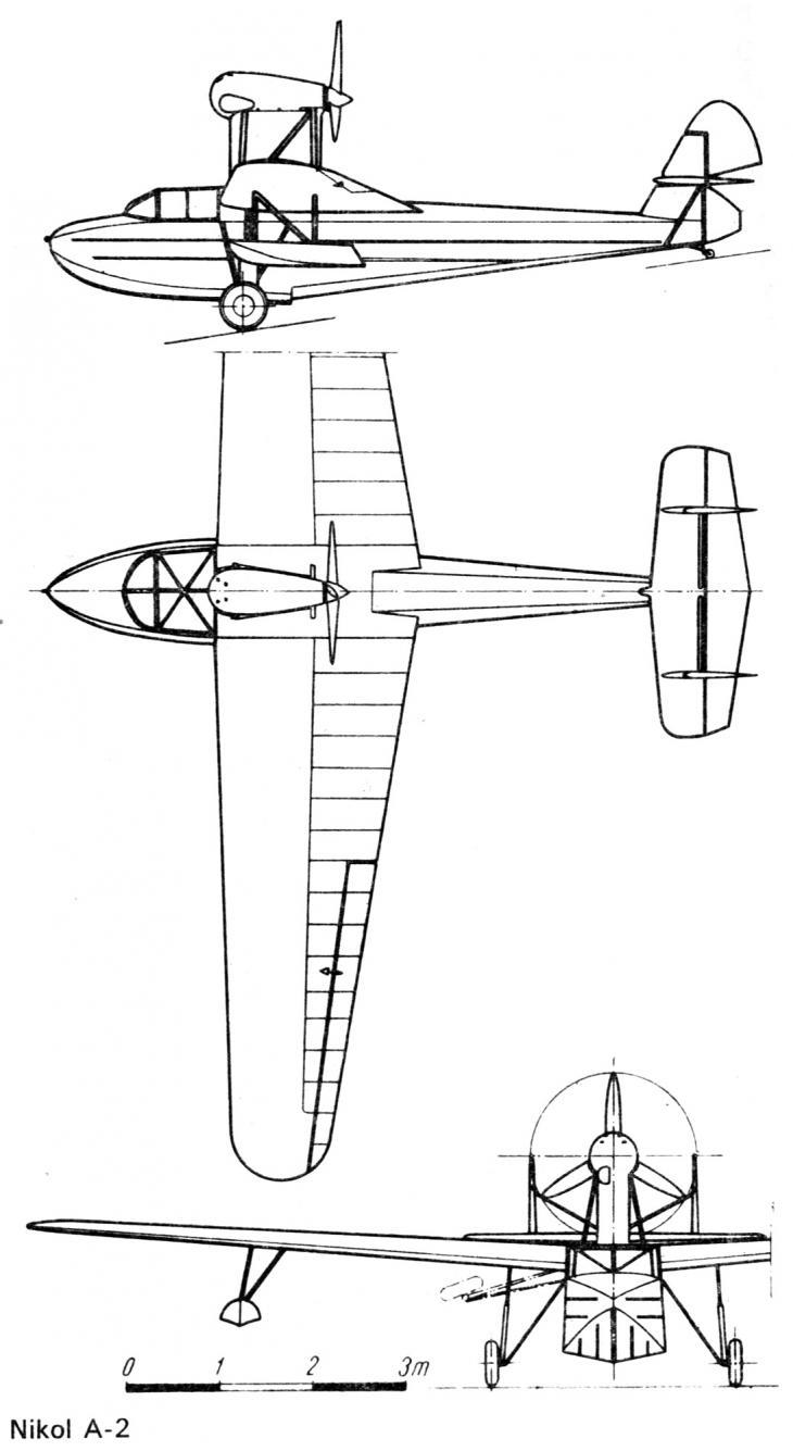 Опытная многоцелевая летающая лодка nikol a-2. польша