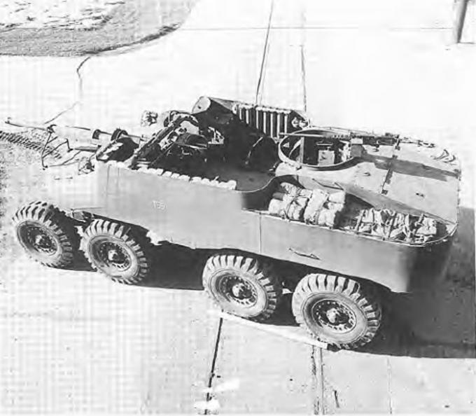 Опытная самоходная артиллерийская установка t55/t55e1 (сша)