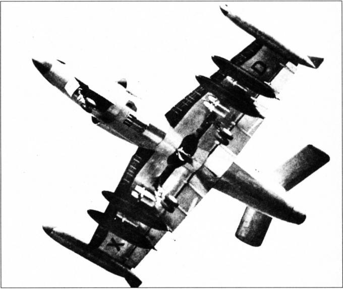 Опытные истребители-бомбардировщики ffa p-16 dusenstorch. швейцария часть 3