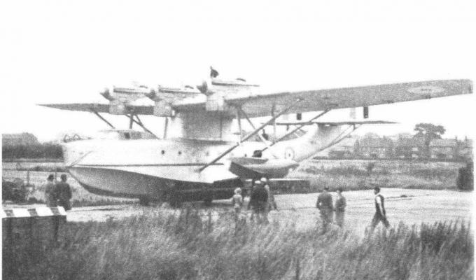 Опытные летающие лодки blackburn r.b.2 sydney и c.b.2 nile. великобритания