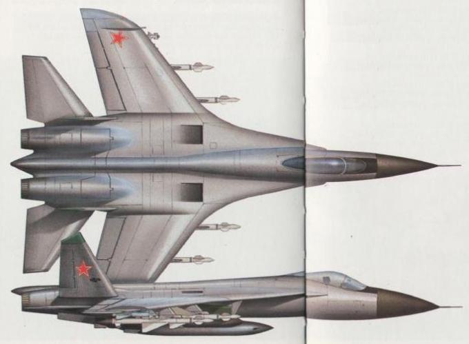 Опытные советские самолеты глазами запада. часть 3 многоцелевой всепогодный истребитель sukhoi su-27 (су-27)