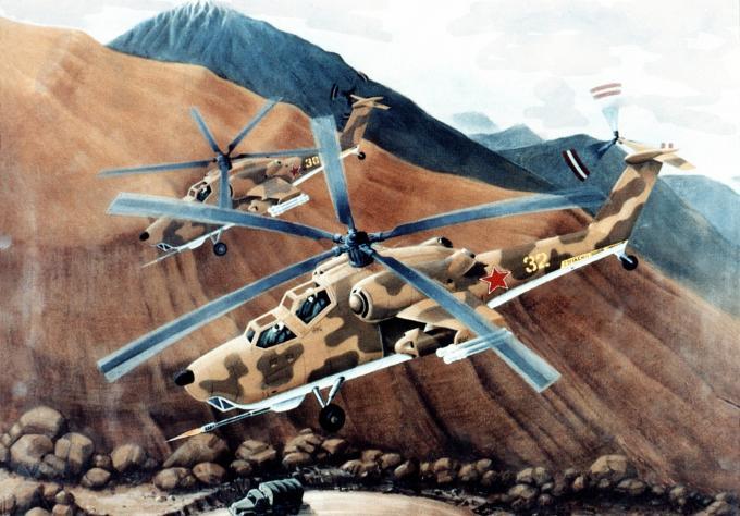 Опытные советские вертолеты глазами запада. ударный вертолет mil mi-28 havoc (ми-28)