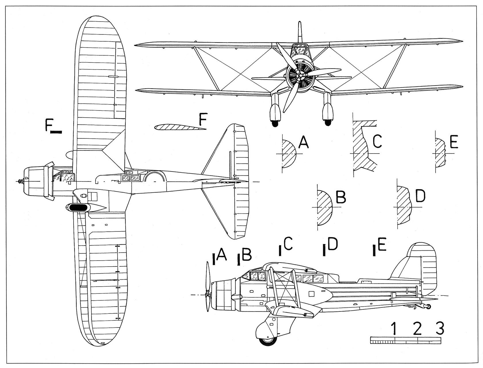 Опытные торпедоносцы/бомбардировщики levasseur pl.107/108. франция