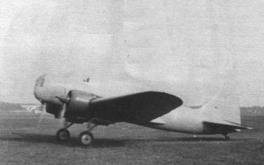 Опытный бомбардировщик цкб-26.