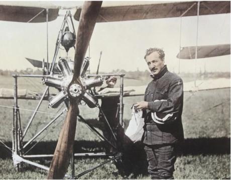 Опытный двухместный истребитель dufaux c.2. франция