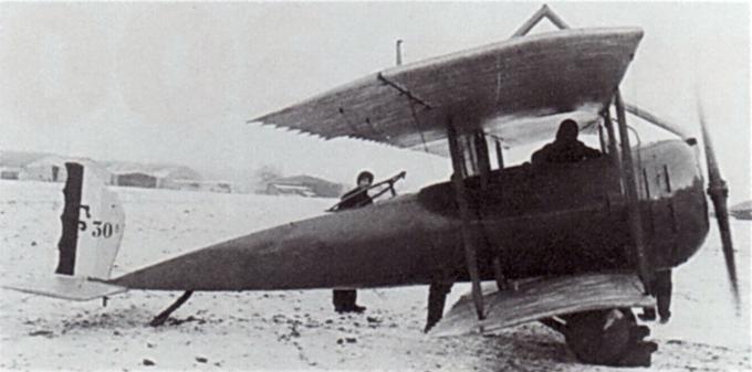 Опытный двухместный истребитель/самолет-разведчик farman f.30a/b. франция