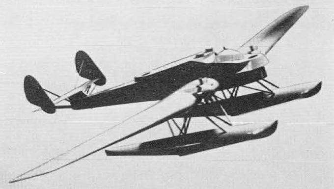 Опытный гидросамолет-бомбардировщик/торпедоносец lublin r-xx/l.w.s.-1. польша