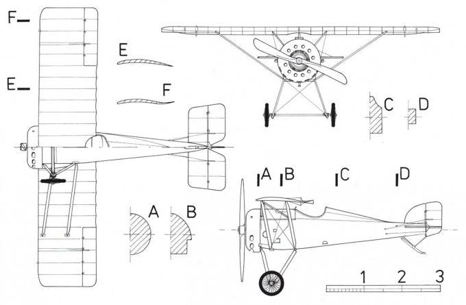 Опытный истребитель aviatik (berg) 30.40. австро-венгрия