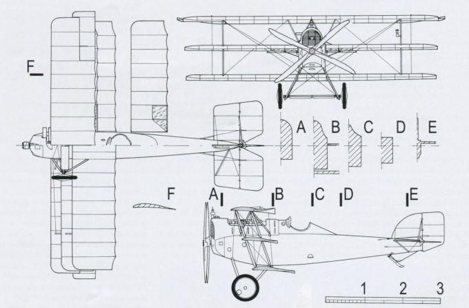 Опытный истребитель aviatik (berg) dr.i (30.24). австро-венгрия