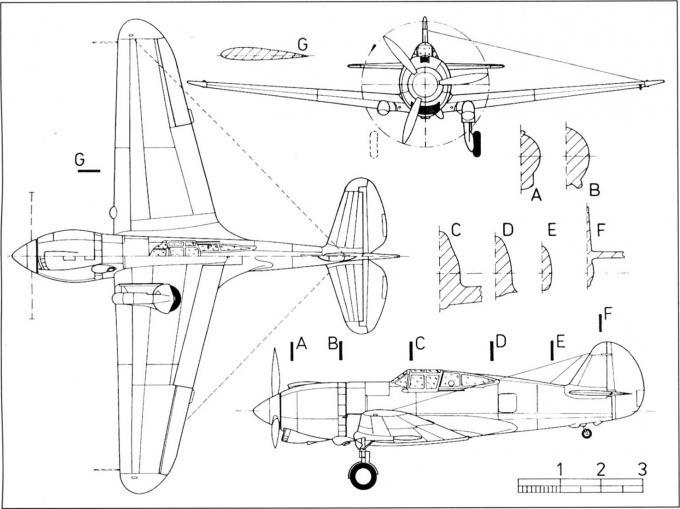 Опытный истребитель curtiss xp-42. сша