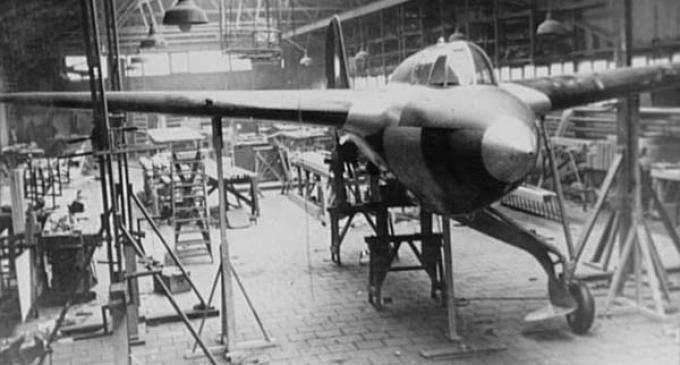 Опытный истребитель koolhoven fk-55. нидерланды