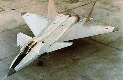 Опытный истребитель миг-1.44 (мфи).