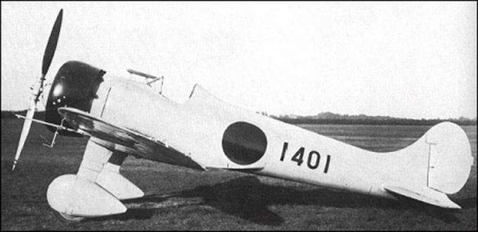 Опытный истребитель mitsubishi ki-18 (?? ?18). япония