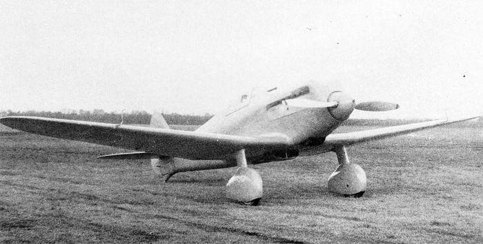 Опытный истребитель mitsubishi ki-33 (?? ?33). япония