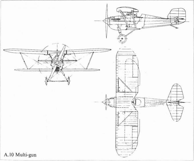 Опытный истребитель saunders a.10 multi-gun. великобритания