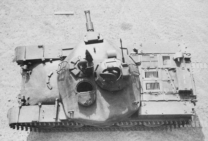 Опытный основной боевой танк мвт-70. сша/германия