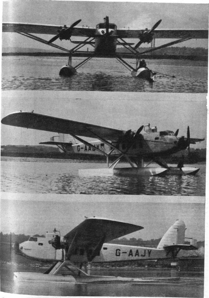 Опытный пассажирский гидросамолет short s-11 valetta. великобритания часть 2