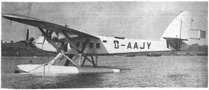 Опытный пассажирский гидросамолет short s-11 valetta. великобритания часть3