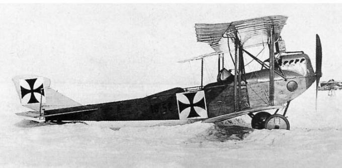 Опытный самолёт-разведчик lohner с.ii (10.19). австро-венгрия