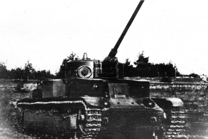 Опытный танк с боевой биографией. опытный тяжелый танк т-220 (кв-220) ссср