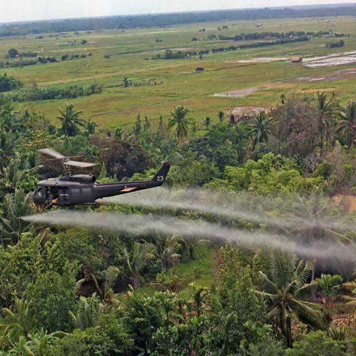 «Оранжевый реактив», химическая агрессия сша против вьетнама