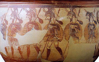 Оружие и доспехи воинов троянской войны. часть 5 копья