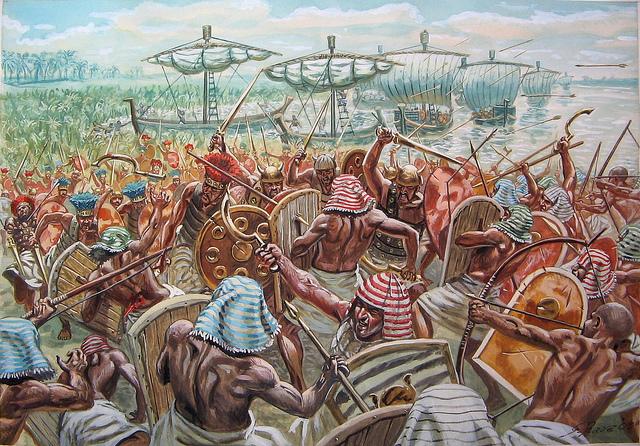 Оружие и доспехи воинов троянской войны. часть 9 доспехи и оружие народов моря