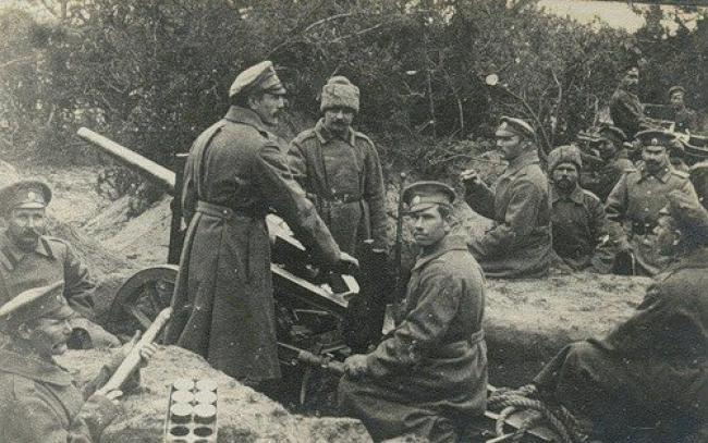 Отечественные батальонные пушки 1915-1930 гг.