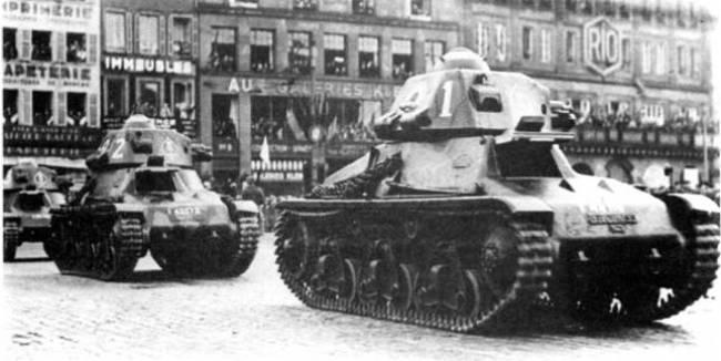 Пакт франция-ссср. танковый аспект. часть 1. французик-карапузик