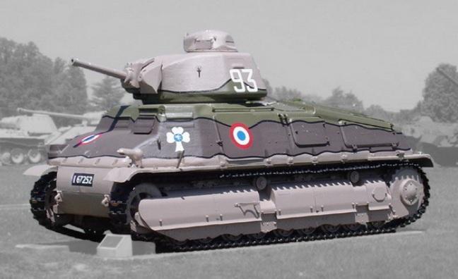 Пакт франция-ссср. танковый аспект. часть 2. литой середняк.