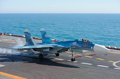 Палубный истребитель су-33 (су-27к).